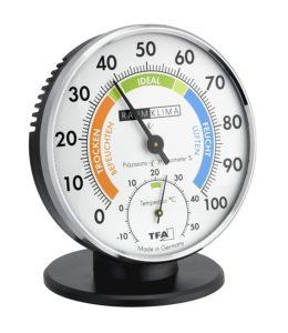 luftentfeuchter test hygrometer